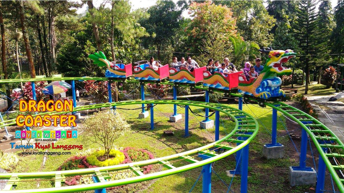 Obyek Wisata Taman Kyai Langgeng Twitter Fresh Oven Dragon Coaster