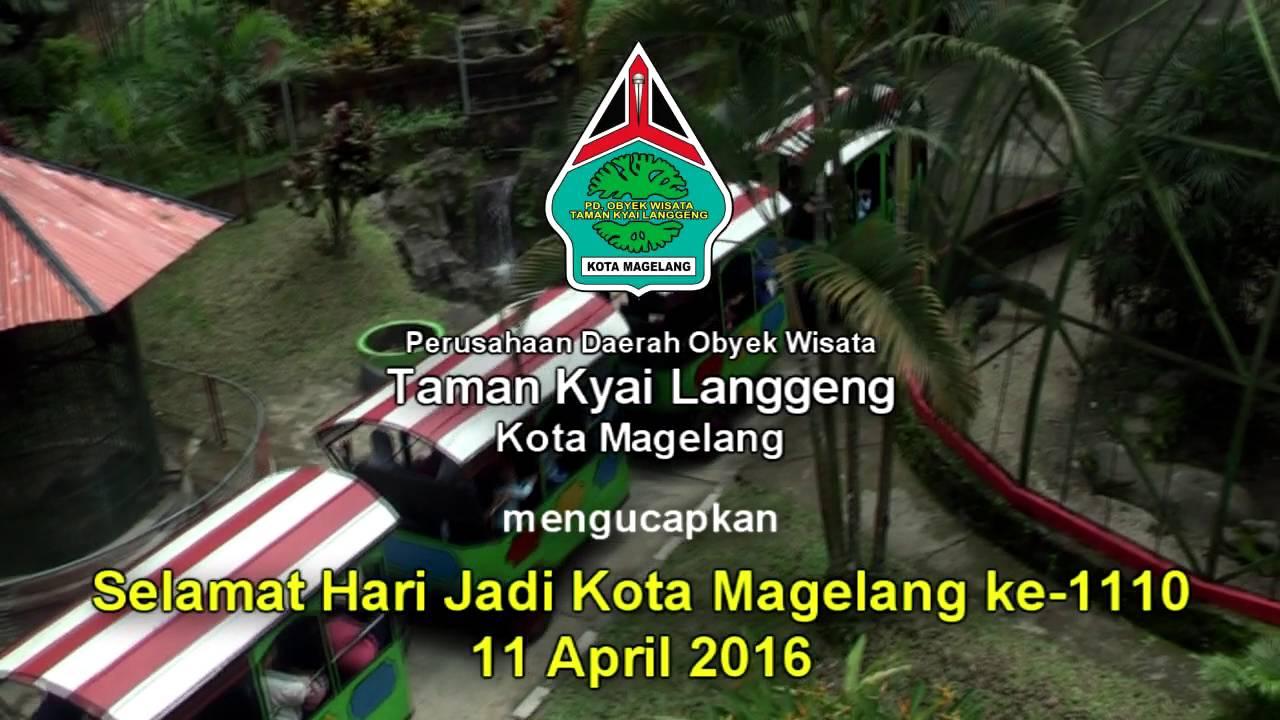 Taman Kyai Langgeng Hari Jadi Kota Magelang Youtube Kiai Kab