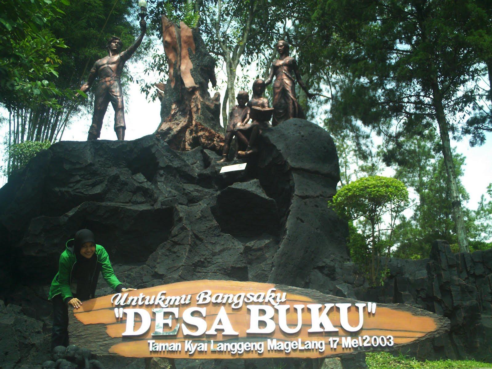 Taman Wisata Kyai Langgeng Magelang Jalan Makan Kiai Kab