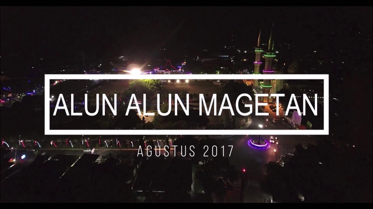 Aerial Video Alun Magetan Malam Hari Youtube Kab