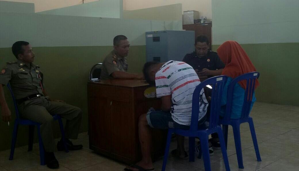 Diduga Berbuat Mesum Alun Dua Pelajar Mts Amankan Satpol Pp