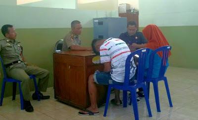 Mesum Alun Magetan Dua Pelajar Mts Diamankan Satpol Pp Diduga