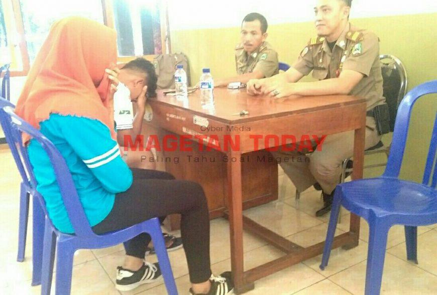 Mesum Alun Pelajar Mts Diamankan Satpol Pp Magetan Today Kab