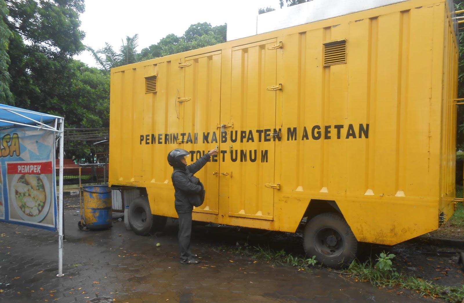 Parah Toilet Umum Alun Magetan Mangkrak Teropongnusa Berupa Kontainer Sudut