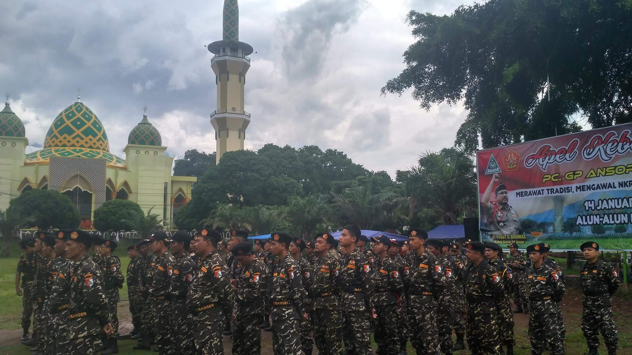 Pasukan Militer Nu Turun Alun Magetan Pache News Sebanyak 4