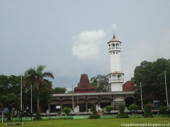 Singgah Masjid Agung Baitussalam Kabupaten Magetan Sebelum Renovasi 2012 Alun