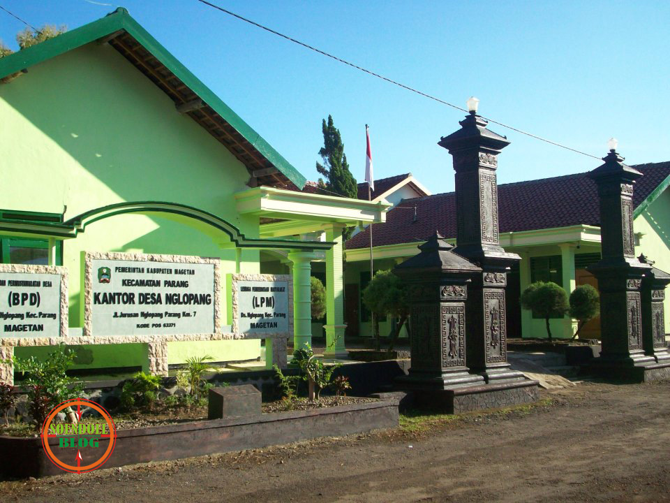 Soendoel Blog Desa Nglopang Parang Magetan Alun Kab