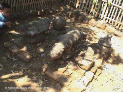 Candi Sadon Jawa Timur Kepustakaan Sebelah Kompleks Tepatnya Depan Pemakaman