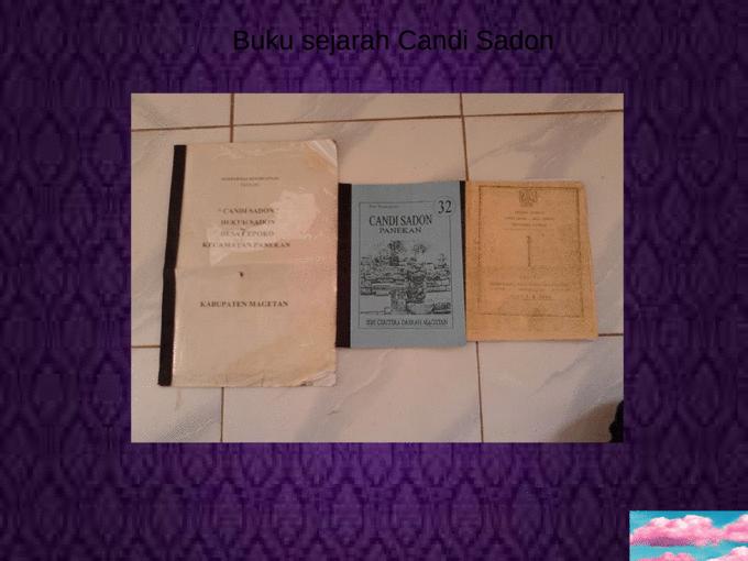 Candi Sadon Panekan Magetan Docslide Br Page 26 Kab