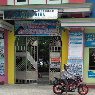 Wahana Kolam Renang Banyu Biru Magetan Nuswantara Indonesia Kab