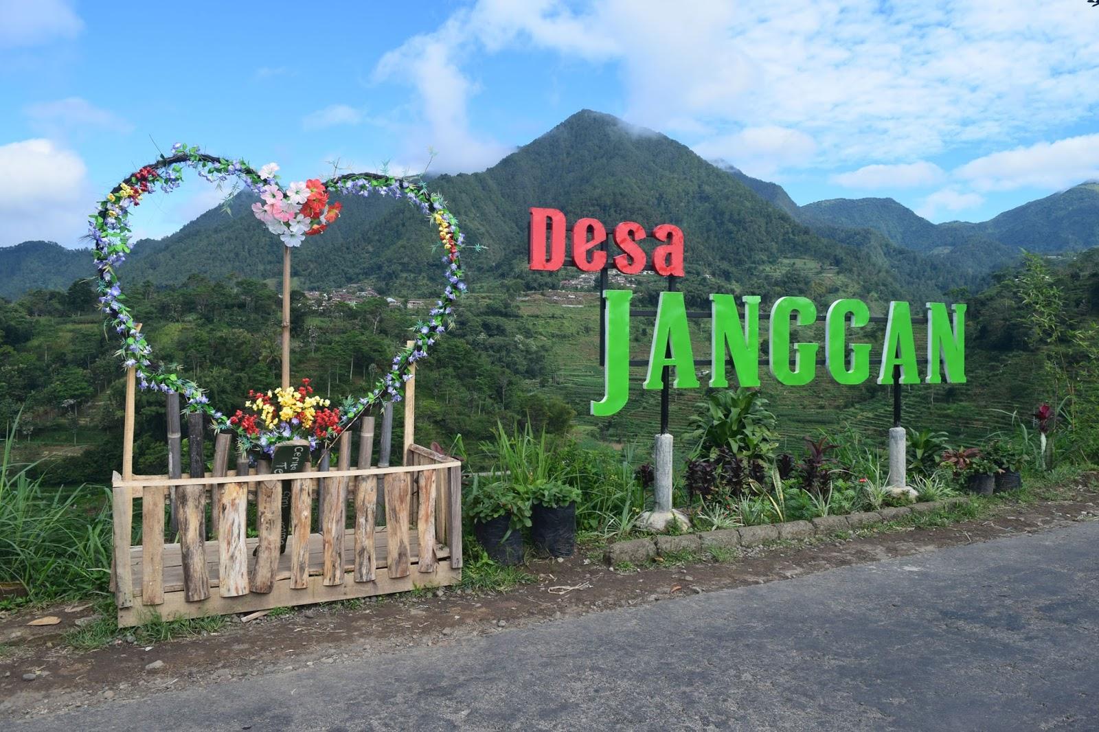 Destinasi Wisata Desa Janggan Magetan Tidak Sekedar Nama Tetapi Sebagai