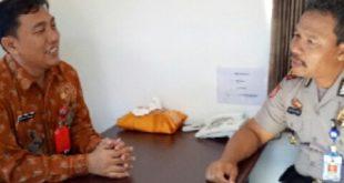 Forkopimca Silaturahmi Takmir Masjid Agung Baitussalam Kapolsek Kawedanan Kepala Puskesmas