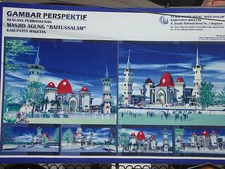 Gambar Masjid Agung Baitus Salam Magetan Lintas Bangunan Baitul Hakim