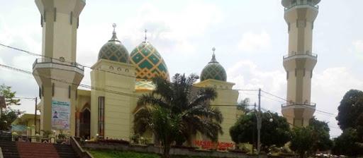 Mampir Sholat Masjid Agung Magetan Berada Sebelah Barat Alun Setiap