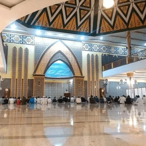 Masjid Agung Baitussalam Kabupaten Magetan Pt Anugerah Kubah Interior Baitusalam