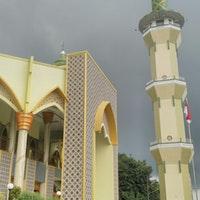 Masjid Agung Baitussalam Magetan Jawa Timur Foto Diambil Oleh Adam