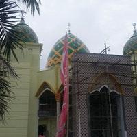 Masjid Agung Baitussalam Magetan Jawa Timur Foto Diambil Oleh Wahyu