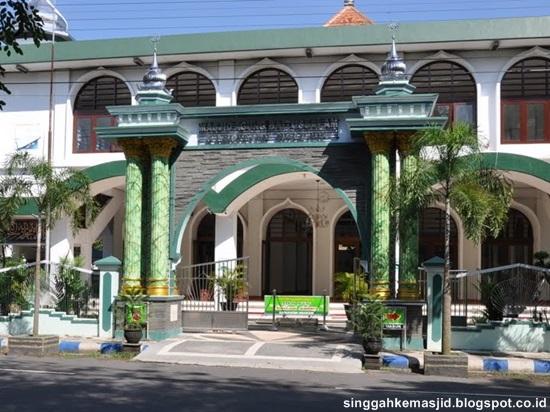 Masjid Agung Baitussalam Nganjuk Info Menarik Sedulur Klaten Kab Magetan