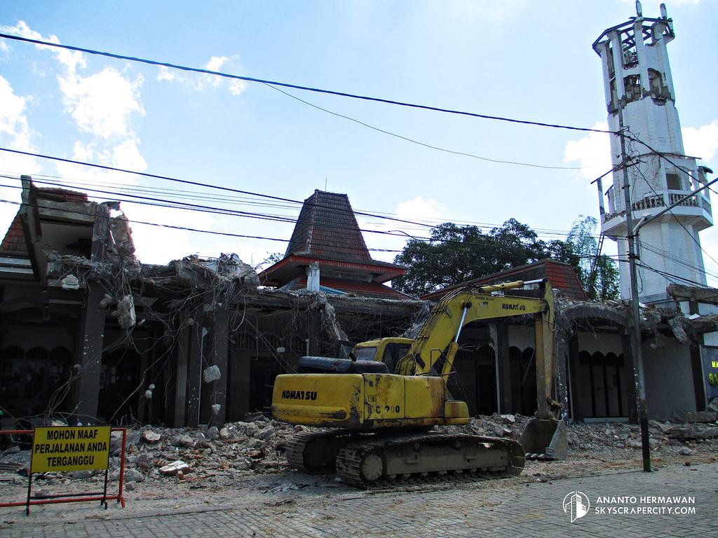 Renovasi Masjid Agung Baitussalam Magetan Jawa Antok Hermawan Kab