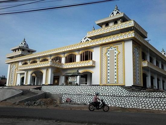 Singgah Masjid Agung Al Awwanah Sanggau Muawanah Kabupaten Setelah Renovasi