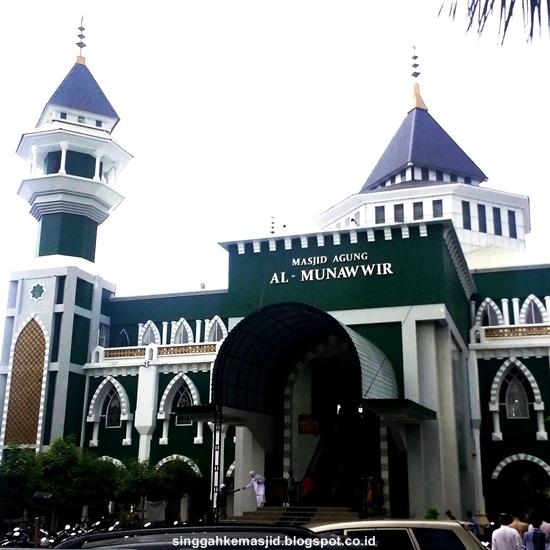 Singgah Masjid Agung Al Munawwir Pinrang Kabupaten Sulawesi Selatan Baitussalam