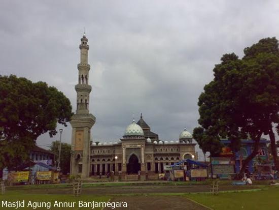 Singgah Masjid Agung Annur Banjarnegara Baitussalam Kab Magetan