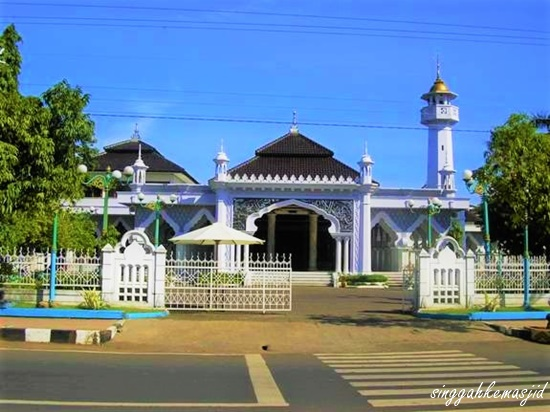 Singgah Masjid Agung Baitul Makmur Jepara Baitussalam Kab Magetan