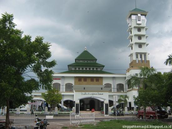 Singgah Masjid Agung Baitur Rahman Ngawi Baiturrahman Kabupaten Baitussalam Kab