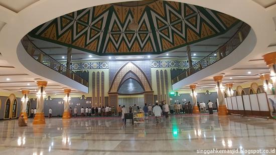 Singgah Masjid Agung Baitussalam Kabupaten Magetan Interior Kab
