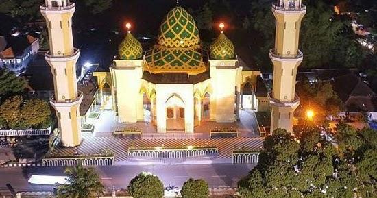 Singgah Masjid Agung Baitussalam Kabupaten Magetan Kab