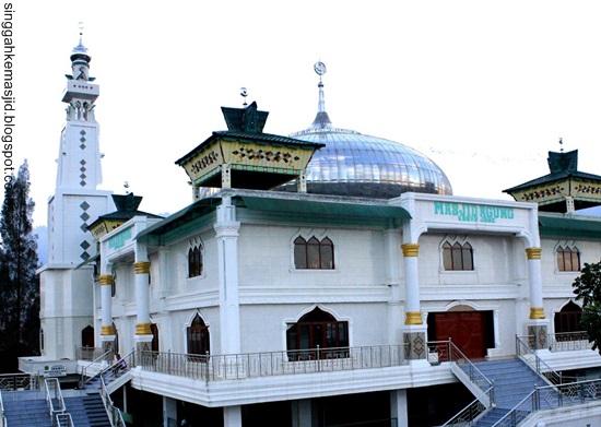 Singgah Masjid Agung Kabanjahe Kabupaten Karo Baitussalam Kab Magetan