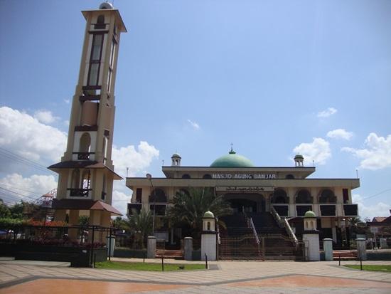 Singgah Masjid Agung Kota Banjar Baitussalam Kab Magetan