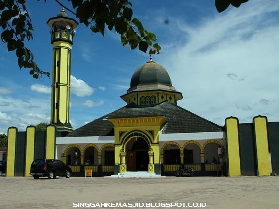 Singgah Masjid Agung Rantauprapat Rantau Prapat Kabupaten Labuhan Batu Sumatera
