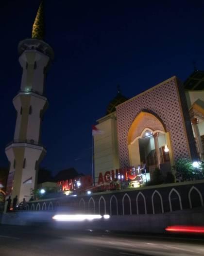 Wisata Religi Masjid Agung Baitussalam Kabupaten Magetan Doc Majiner Kab