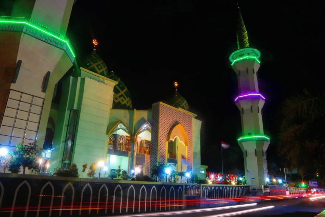 Wisata Religi Masjid Agung Baitussalam Kabupaten Magetan Kab