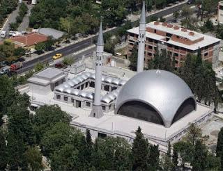 Baiturahmannews Blogspot Zeynep Fadillioglu Arsitek Perempuan Masjid Sakirin Tampak Atas