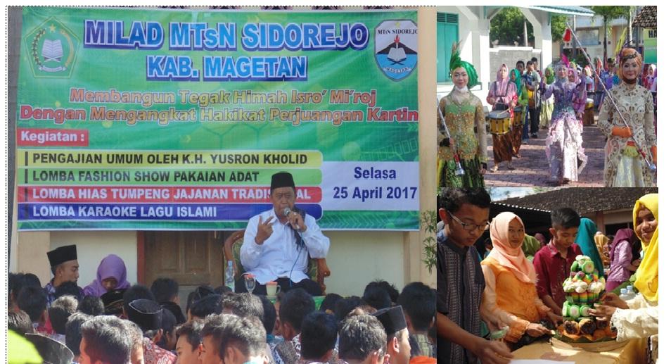 Mtsn Sidorejo Kabupaten Magetan Milad Masjid Akhlakul Karimah Kab