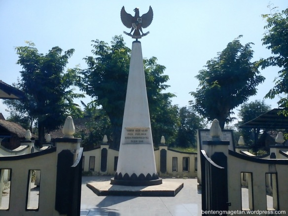 Catatan Puguh Monumen Soco Bendo Magetan Berada Desa Kec Kab