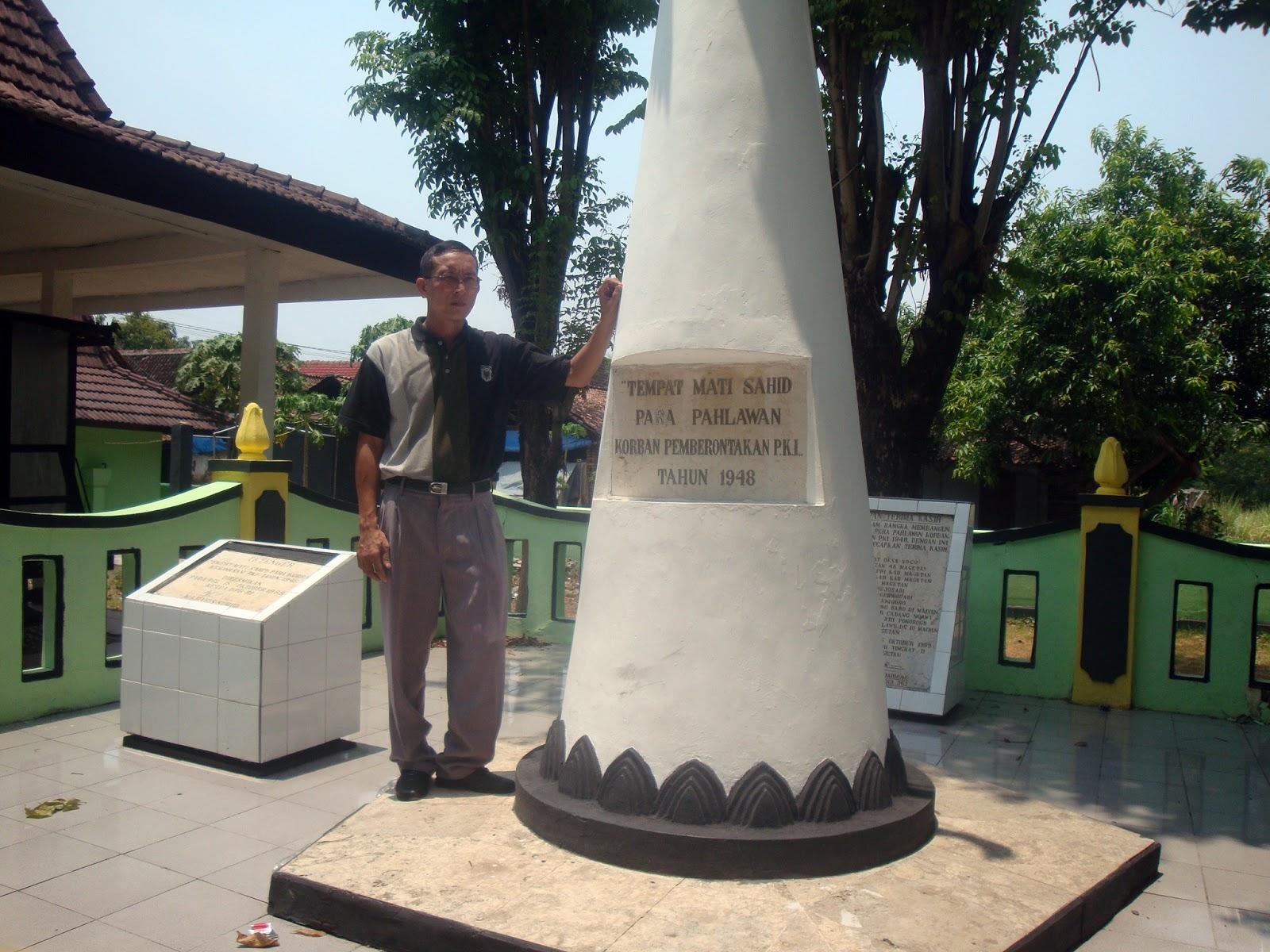 Firdaus Ubaidillah Monumen Soco Kabupaten Magetan Jawa Timur Didirikan Mengenang