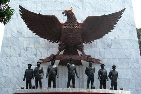 Foto Gambar Barang Peninggalan Korban 30 Pki Freewaremini Monumen Pancasila