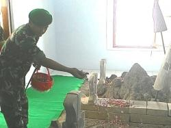 Pangdam Kunjungi Makam Gubernur Jatim Pertama Magetan Surya Monumen Soco
