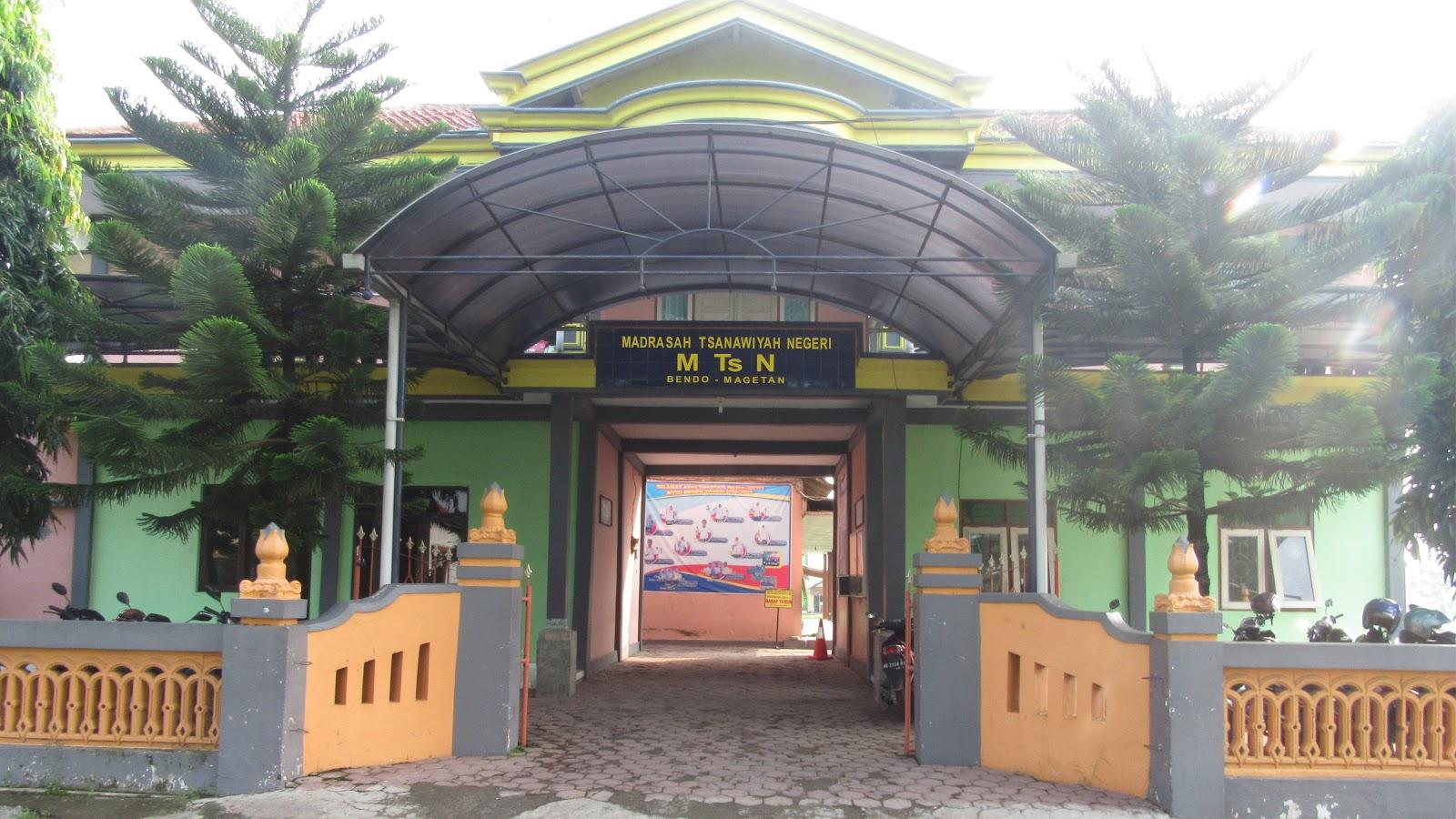 Sejarah Mtsn Bendo Terletak Desa Tanjung Kecamatan Kabupaten Magetan Propinsi