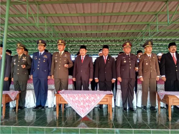 Upacara Peringatan Hari Kesaktian Pancasila Kabupaten Magetan Pewarta Jatuh Tepat