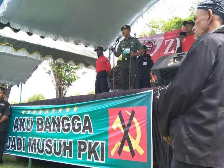 Ziarah Syuhada Korban Keganasan Pki Digelar Monumen Soco Magetan Setelah