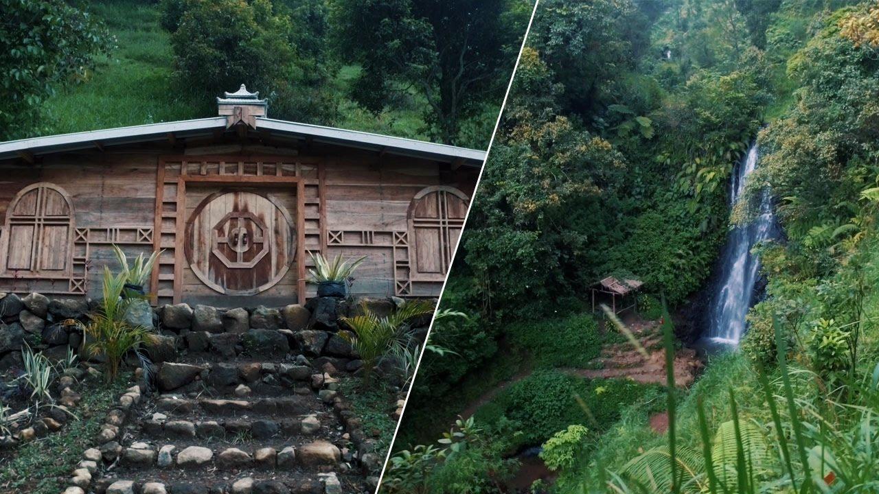 Rumah Hobit Air Terjun Hutan Wonomulyo 4k Youtube Hobbit Kab