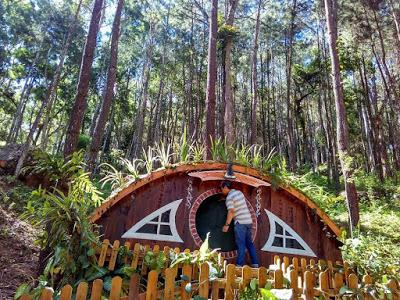 Tiket Masuk 10 Rumah Hobbit Bandungan Semarang Magelang Lombok Zealand