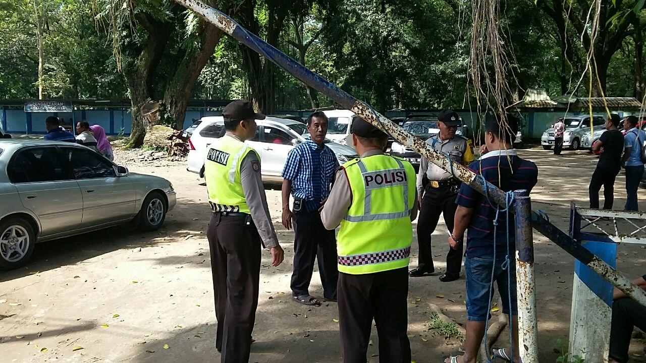 Antisipasi Hari Libur Anggota Polsek Maospati Patroli Tempat Wisata Taman