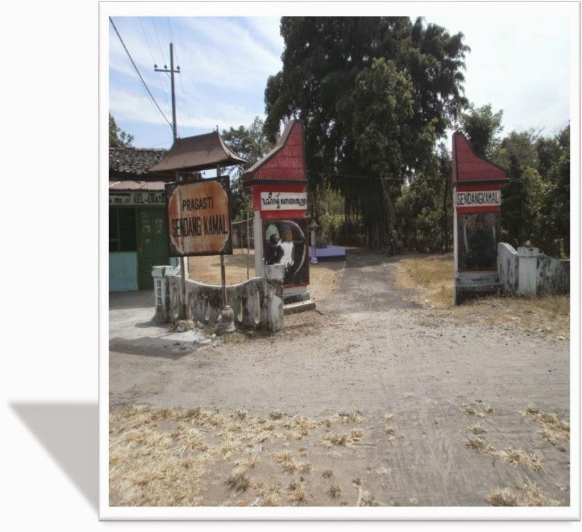 Duniaku Prasasti Sendang Kamal Berlokasi Dukuh Sumber Kraton Timur Kelurahan