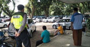Kapolsek Panekan Bersama Anggota Patroli Dialogis Terminal Antisipasi Hari Libur