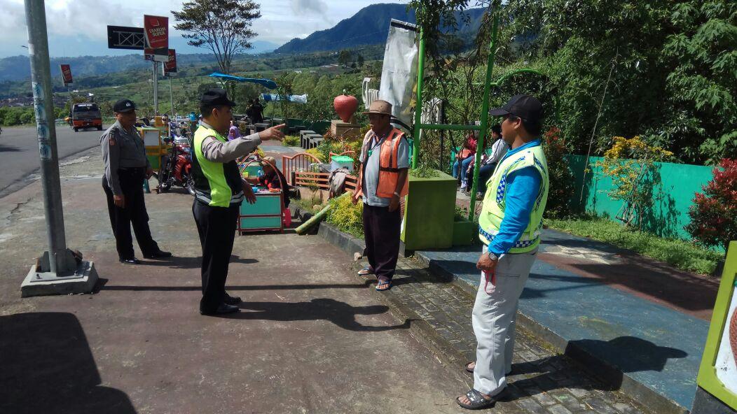 Polsek Plaosan Himbau Tukang Parkir Taman Sarangan Lebih Patroli Polres